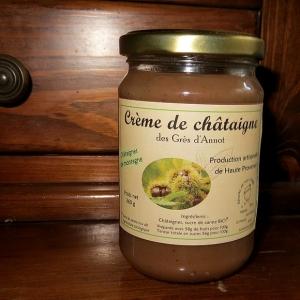 Crème de Châtaignes BIO artisanale